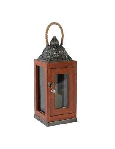 Orientalische Holzlaterne Assa | 2 Größen