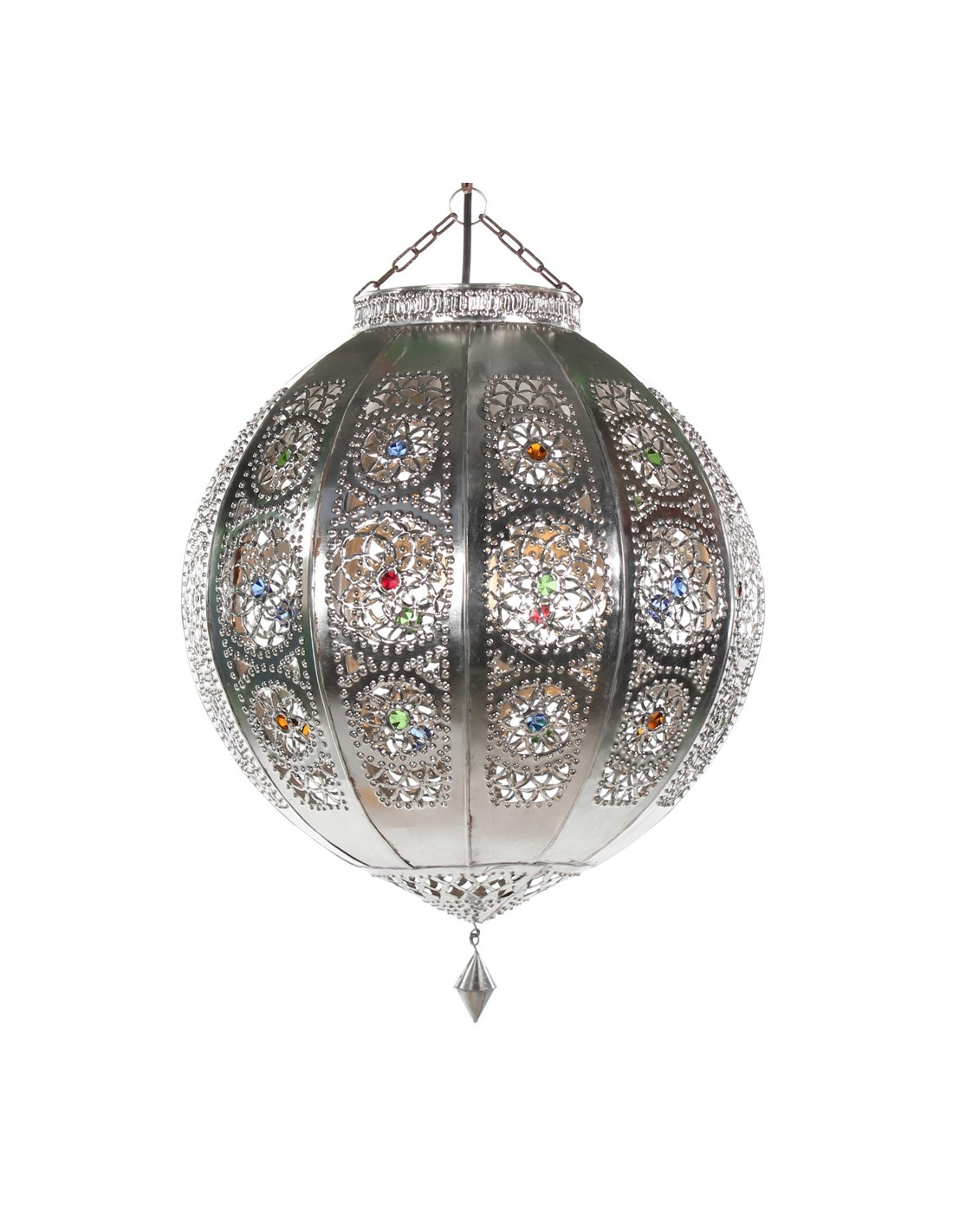 orientalische lampe rana silber albena marokko galerie. Black Bedroom Furniture Sets. Home Design Ideas