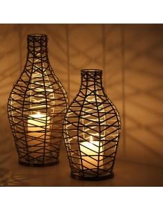 Windlicht Drahtflasche Frasco