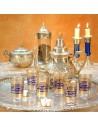 6 Orient Teegläser Tunis blau