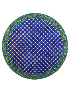 Marokkanischer Mosaiktisch Fassia 80 cm