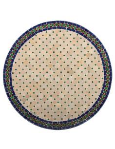 Marokkanischer Mosaiktisch Jamal 80 cm