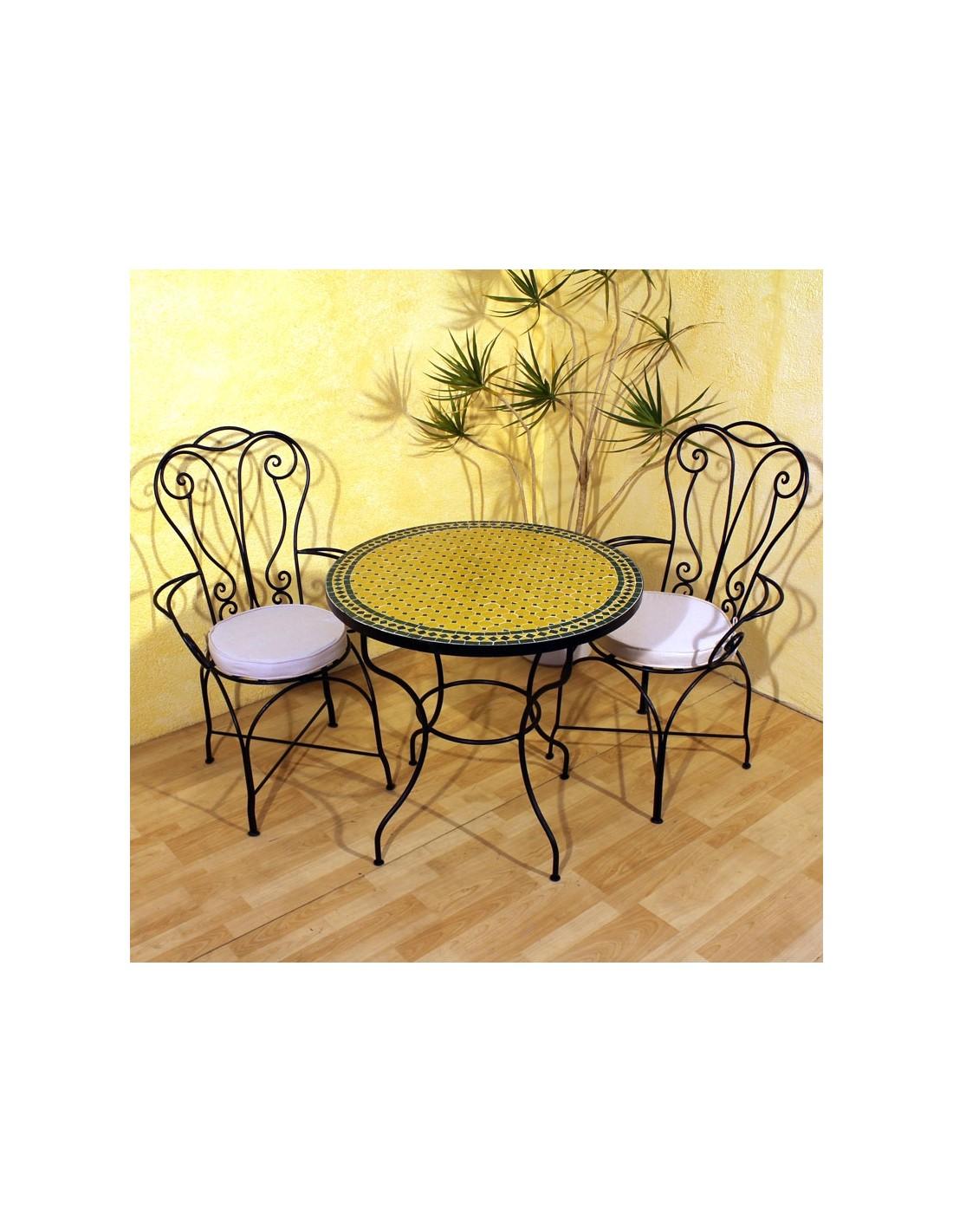 mosaiktisch anuk 80cm rund marke albena marokko galerie. Black Bedroom Furniture Sets. Home Design Ideas