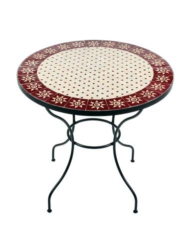 Marokkanischer Mosaiktisch Sumil 80 cm