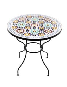 Marokkanischer Mosaiktisch Lisu 80 cm