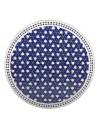 Marokkanische Mosaikplatte Maar blau 100 cm