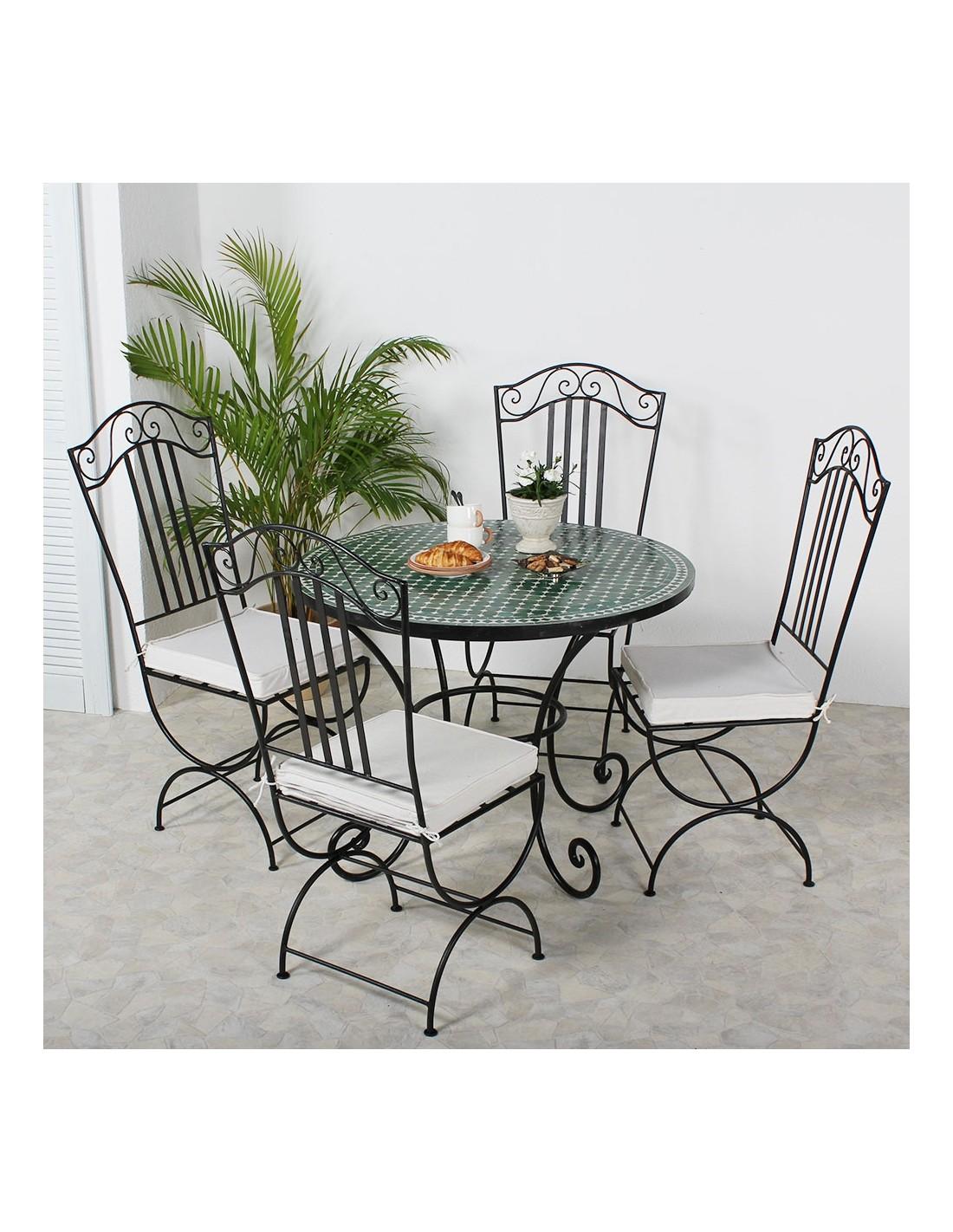 mosaiktisch maar gr n 100cm albena marokko galerie. Black Bedroom Furniture Sets. Home Design Ideas