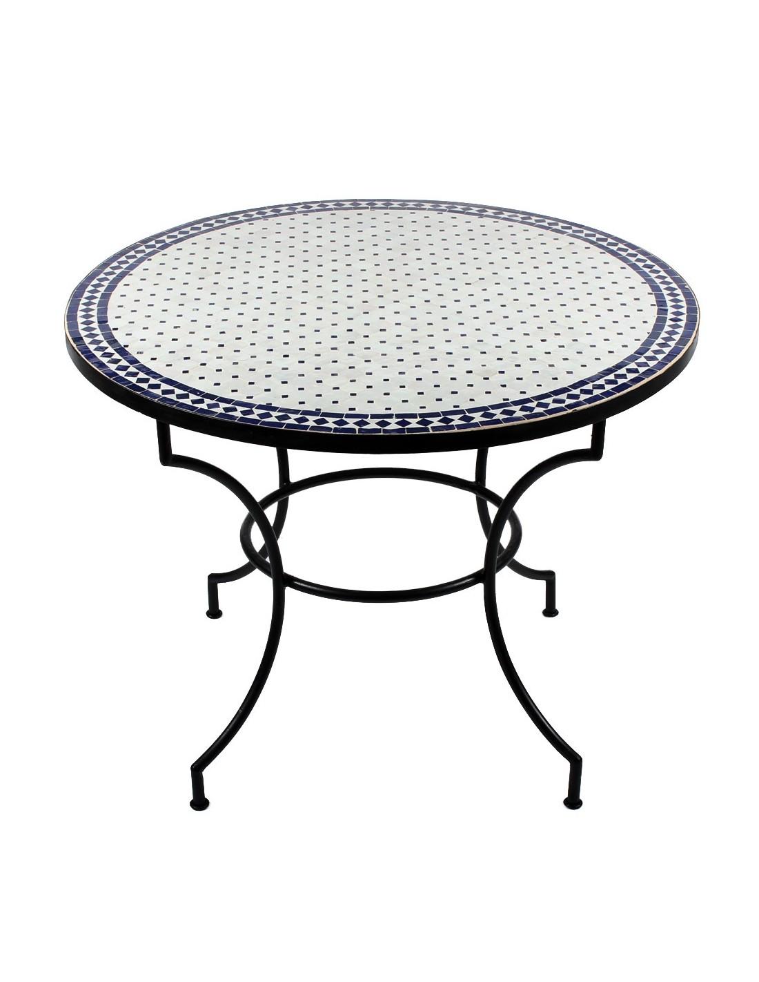 esstisch rund wei 100 cm cool mosaiktisch maar blau cm with esstisch rund wei 100 cm finest no. Black Bedroom Furniture Sets. Home Design Ideas