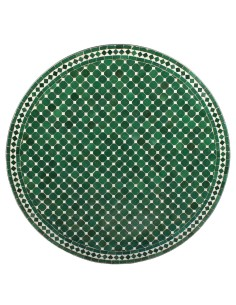 Marokkanischer Mosaiktisch Hamra 100 cm