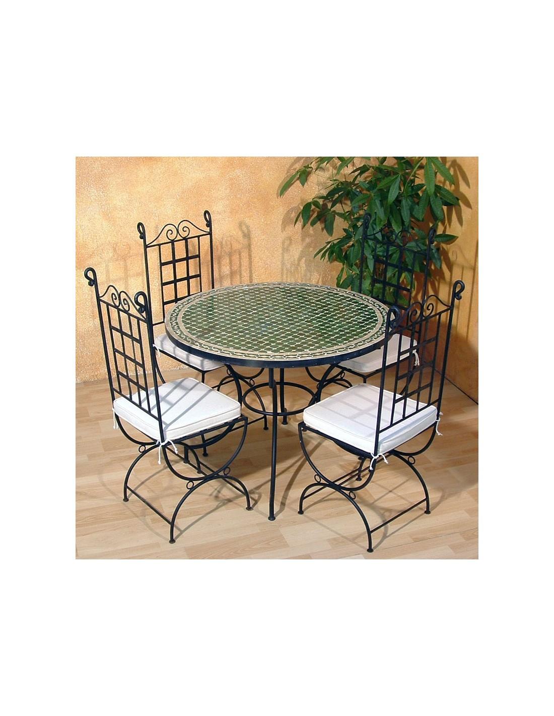 mosaiktisch menak 100cm rund albena marokko galerie. Black Bedroom Furniture Sets. Home Design Ideas