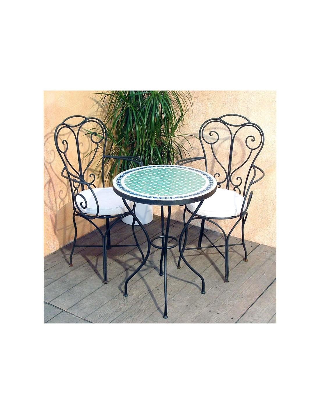 mosaiktisch fero 60cm rund bei albena marokko galerie. Black Bedroom Furniture Sets. Home Design Ideas