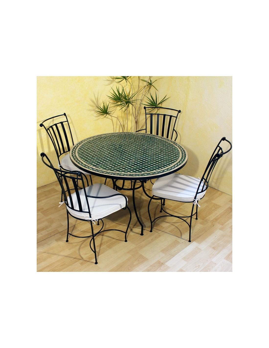 mosaiktisch menak 120cm rund albena marokko galerie. Black Bedroom Furniture Sets. Home Design Ideas