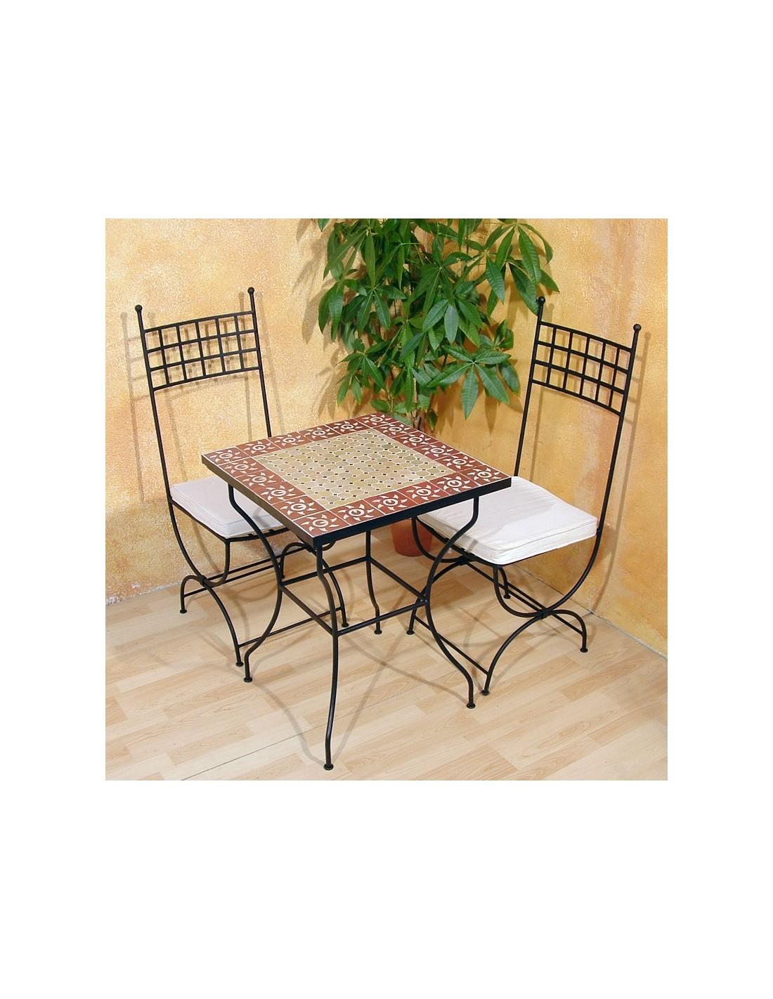 mosaiktisch sumil 60x60cm bistrotisch aus marokko. Black Bedroom Furniture Sets. Home Design Ideas