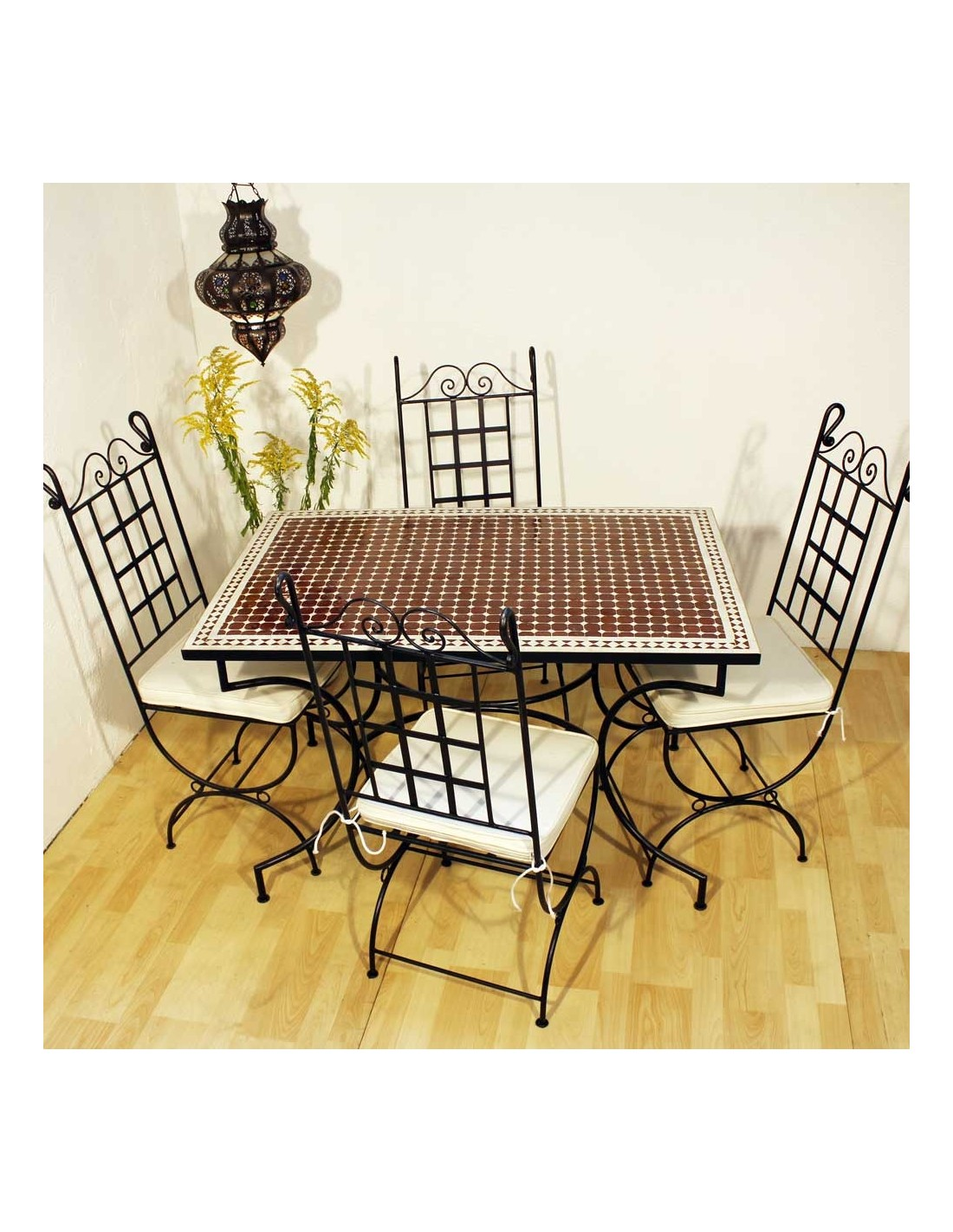 mosaiktisch susat 80x120cm in der albena marokko galerie. Black Bedroom Furniture Sets. Home Design Ideas