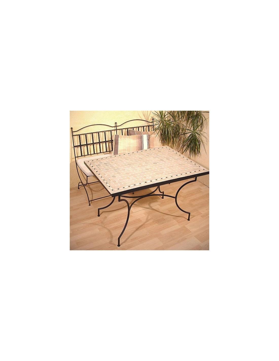 mosaiktisch yena 80x120cm in der albena marokko galerie. Black Bedroom Furniture Sets. Home Design Ideas