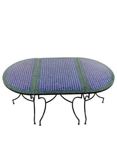 3-teilige Tischkombination Fassia 120 x 200cm
