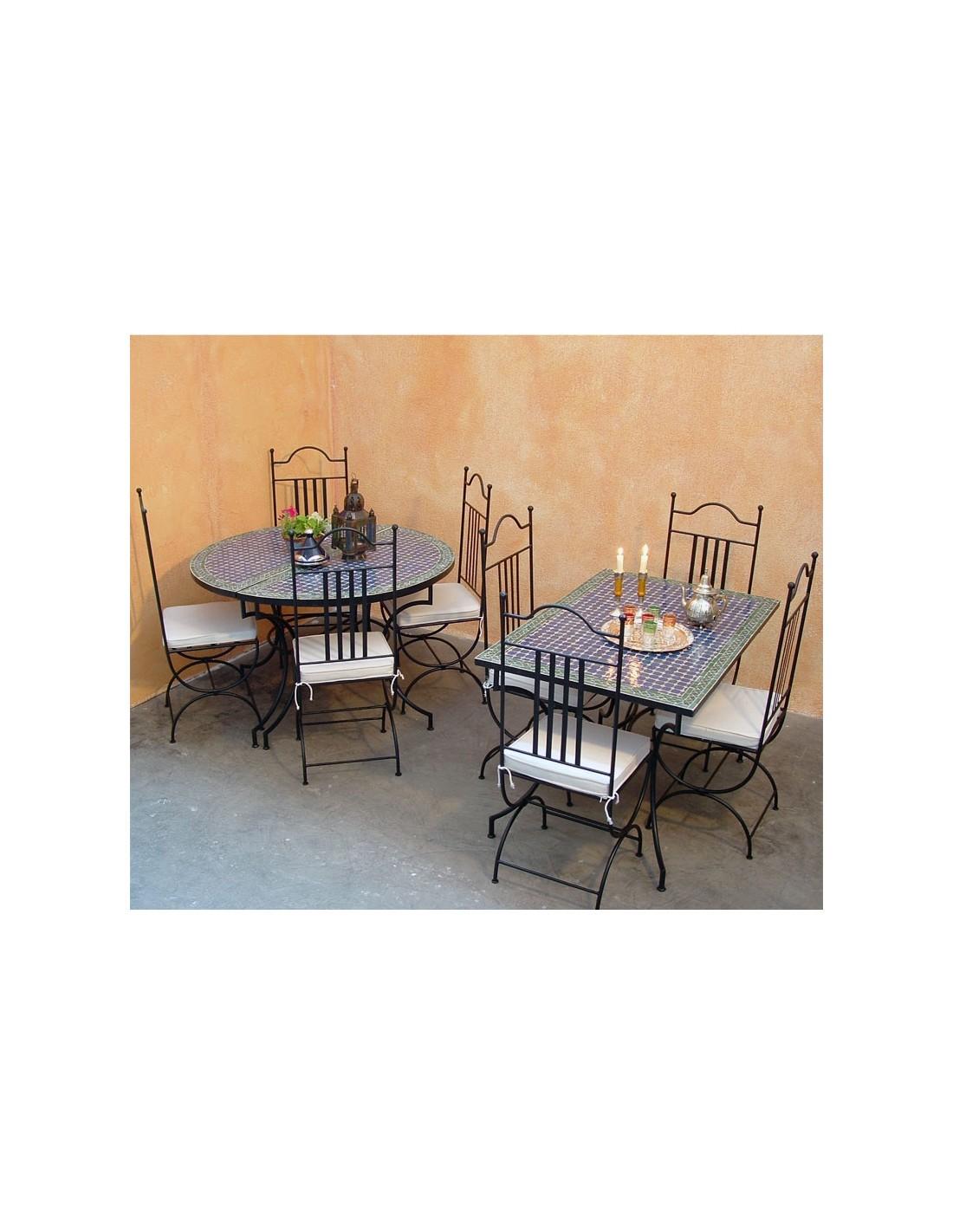 mosaik tischkombination fassia 120x200cm. Black Bedroom Furniture Sets. Home Design Ideas