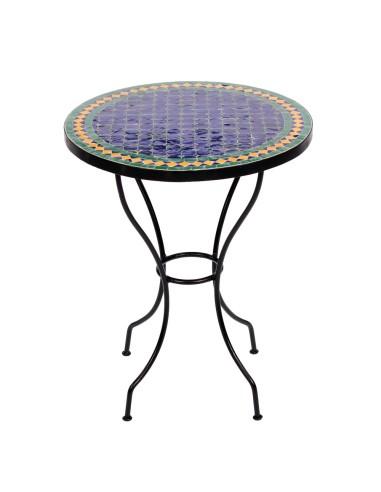 Marokkanischer Mosaiktisch Fareo 60 cm