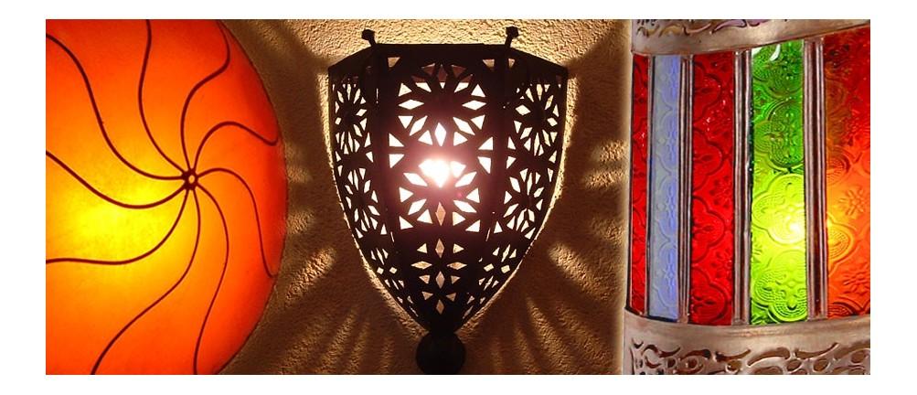Orientalische Wandlampen