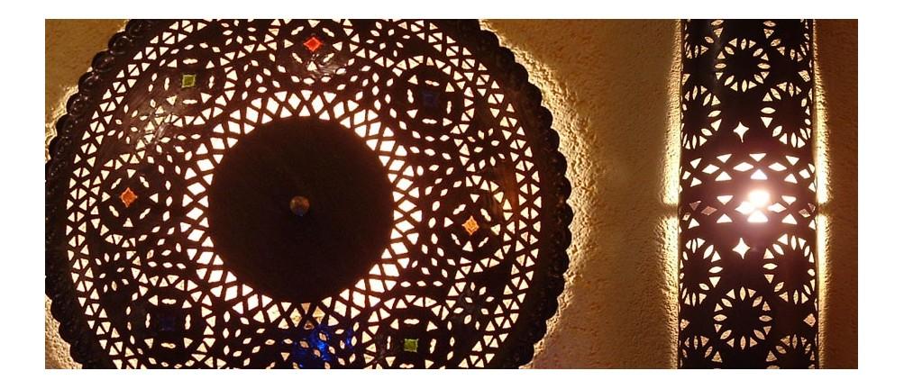 Orientalische wandlampen in der albena marokko galerie - Orientalische wandlampe ...