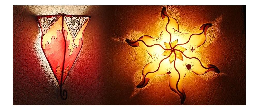 Lederwandlampen