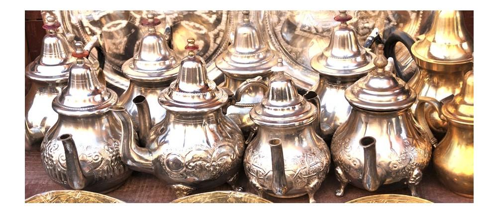 Marokkanische Teekannen