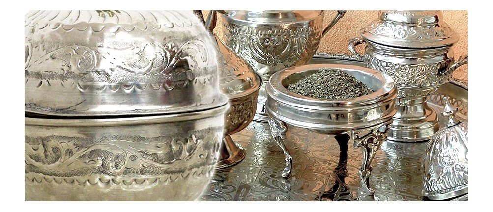 Antike Zuckerdosen & Minzbehälter